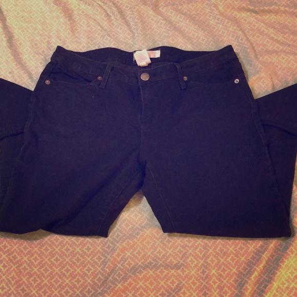 No Boundaries Pants - Black skinny jeans